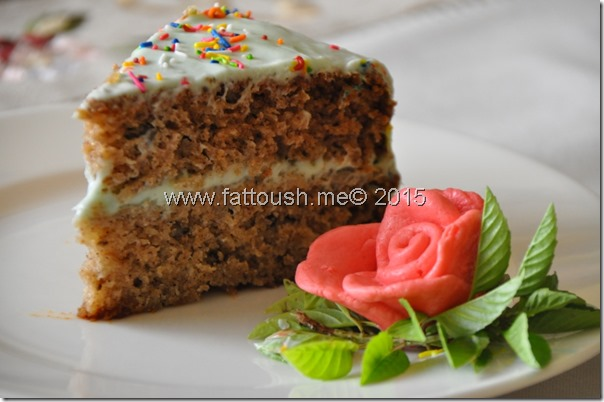 وصفة كيك  الهمينجبرد أو كعكة الأناناس وجوز الهند من www.fattoush.me© 2015