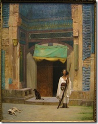 jean-leon-gerome-portal-of-the-green-mosque-sentinel-at-the-sultans-tomb