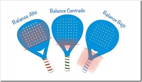 Analiza tu pala, ¿qué tipo de balance tiene?