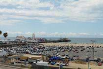 Historic Santa Monica Pier, California