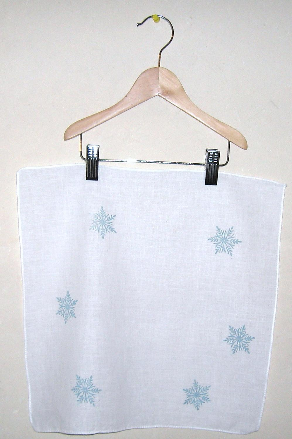 Custom listing for set of 12 wedding favors  2 hankies each set