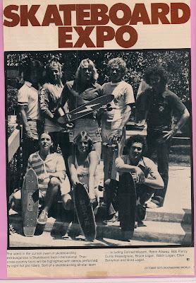 Top Left Conrad Myoshi, Robin Allway, Bobby Piercy, Bruce Logan Bottom Left Robin Logan, Ellen Berryman & Brad Logan