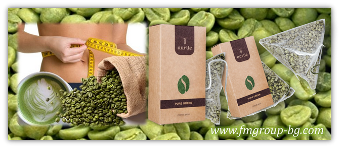 Зелено кафе Aurile / Aurile Pure Green