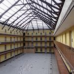 Familistère : musée, cour centrale et verrière