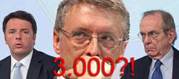 Renzi Cantone Padoan 3000 euro