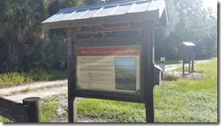 Buck Lake - Trailhead Kiosk Front
