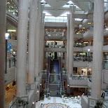 gigantic shopping mall in yokohama in Yokohama, Tokyo, Japan