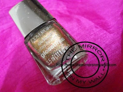 CoverGirl OutLast Stat Brilliant GlossTinis in Seared Bronze 6301.JPG