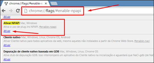 Plugin Java - como reativar no navegador Chrome - Visual Dicas