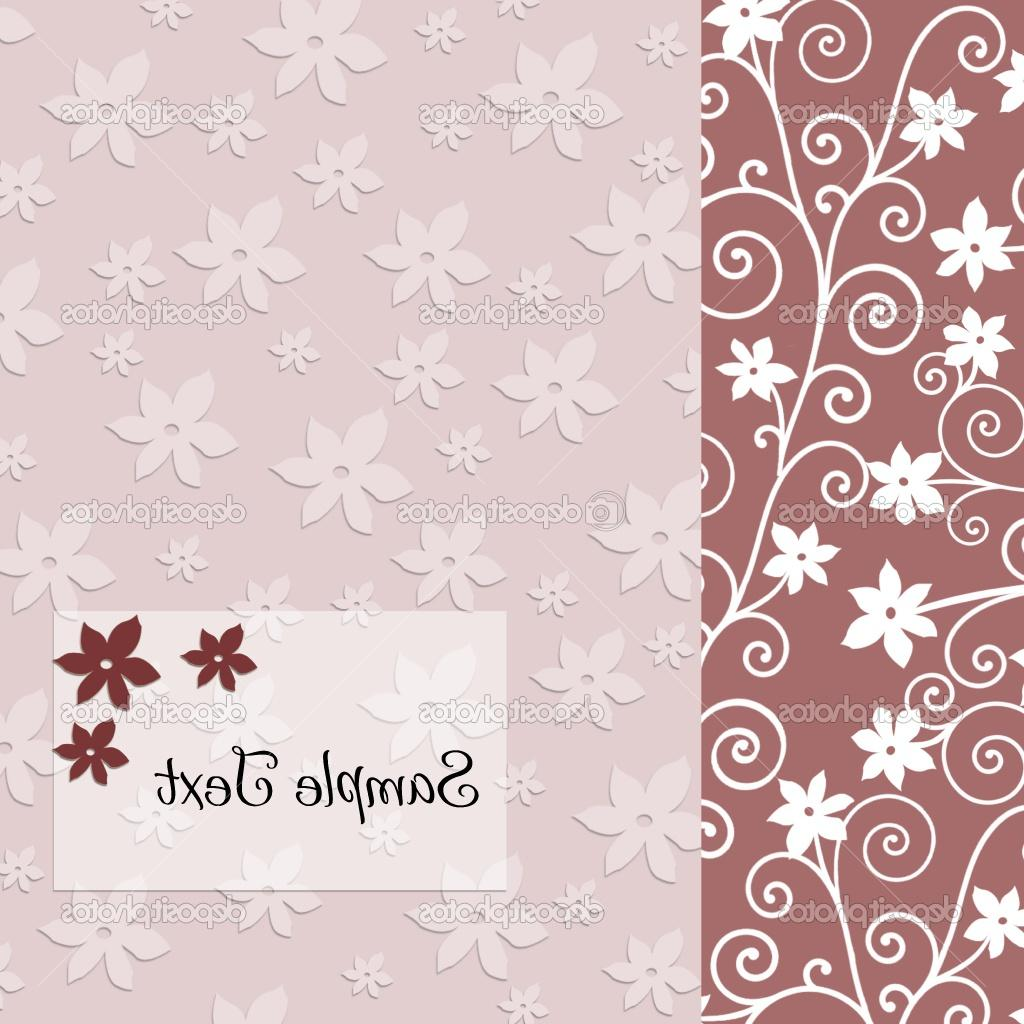 Flowers background with plase