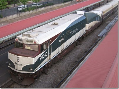 IMG_6682 Amtrak Cascades NPCU #90340 at Union Station in Portland, Oregon on May 27, 2007