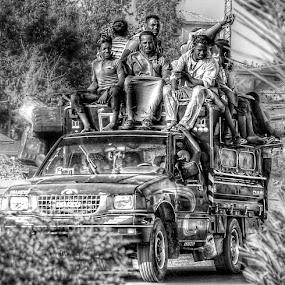 Rural Transportation by Tawfik Dajani - People Street & Candids
