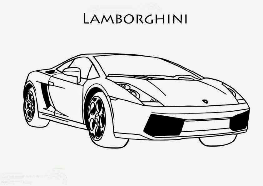 Dessin a colorier de voiture - Dessin voitures ...