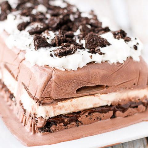 Easiest Ever No Bake Ice Cream Cake