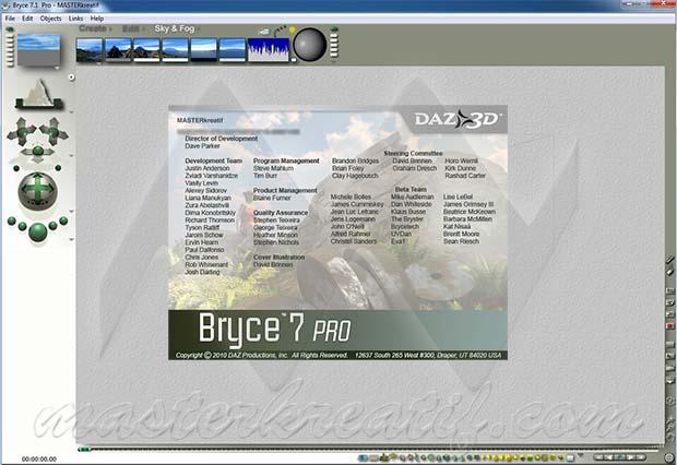 DAZ 3D Bryce 7.1 Pro