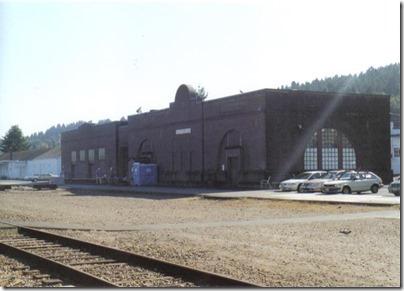 Depot in Astoria, Oregon on September 24, 2005