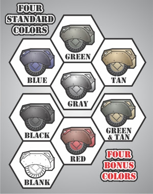 Armor Grid: Motor Pool-Battle Colors