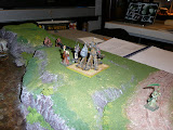 Introductory scenario, stone thrower included.  Never got off a shot.  Crypt wraith, proved dangerous