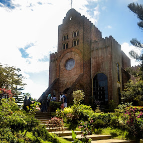Caleruega Church by Gi Masangya - Buildings & Architecture Places of Worship ( structure, church, outdoor photography, tagaytay, 2013, nikon d3100, old structure, architecture, nikon, philippines, photography )
