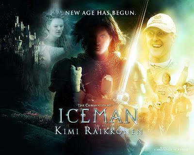 фотошоп возвращение Кими Райкконена
