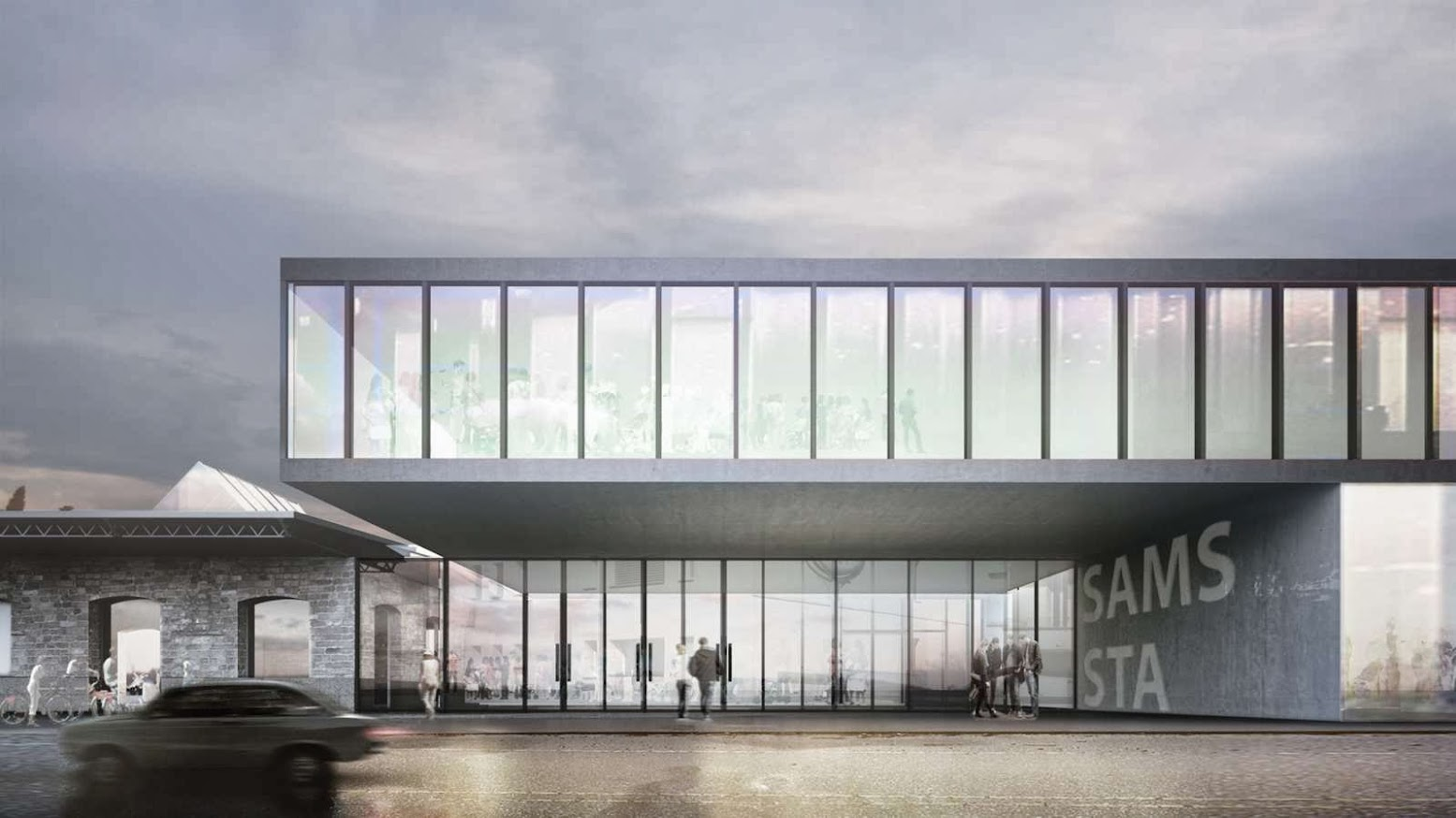 Chiasso, Svizzera: [ANTONIO CITTERIO PATRICIA VIEL AND C+S ARCHITECTS WIN SAMS-STA COMPETITION]