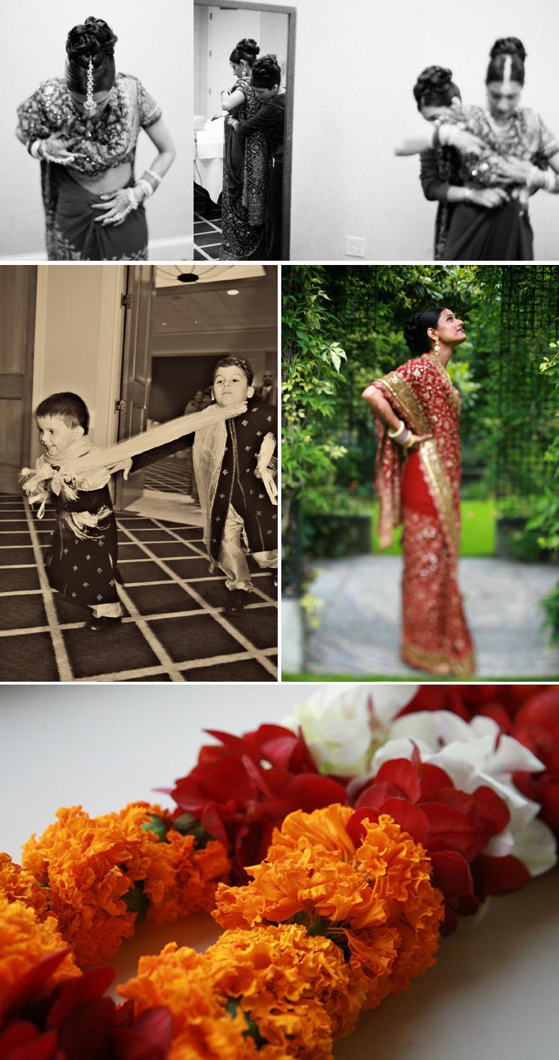 LOVE this bridesmaid sari