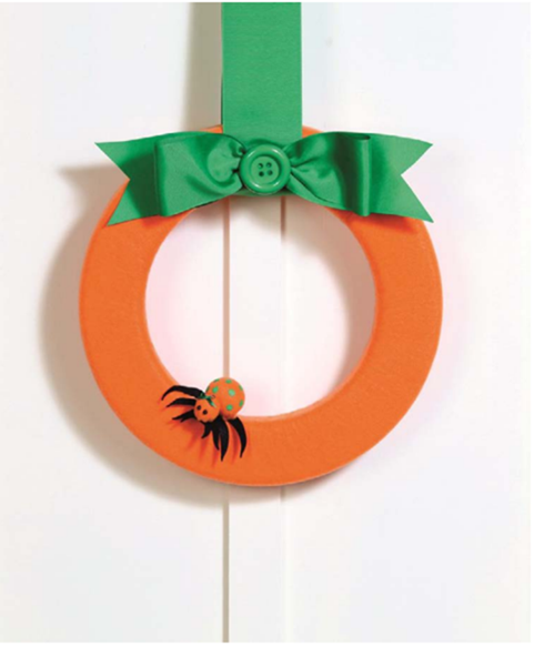 pumpkin wreath