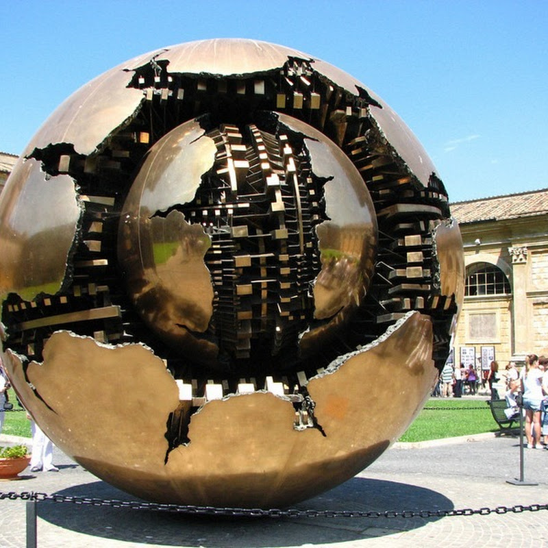 Sphere Within Sphere by Arnaldo Pomodoro