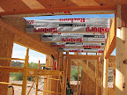 Inside entryway beams/top panels 5/3