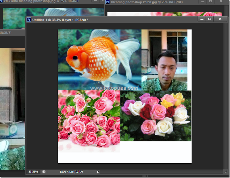 trik membuat efek blending mode photoshop