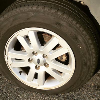 Flat tire in Auburn WA...