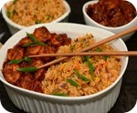 Fried Rice & Sichuan Shrimp 2