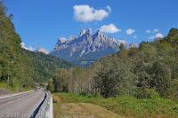 Zum Passo Brocon (1615m).