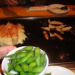 edamame beans in Osaka, Osaka, Japan