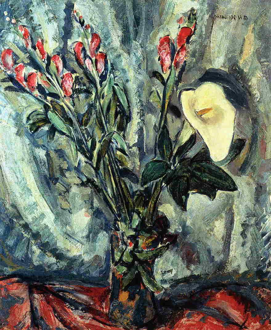 with Calla Lily 1926-1928
