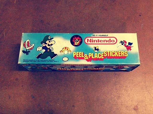 Nintendo Peel And Place Stickers Side 2