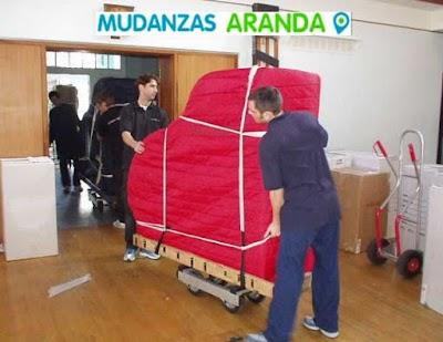 Mudanzas y movimientos Internos en Aranda de Duero
