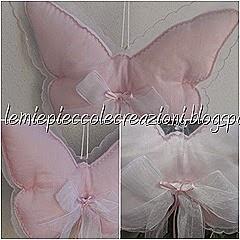 farfalla fiocco nascita