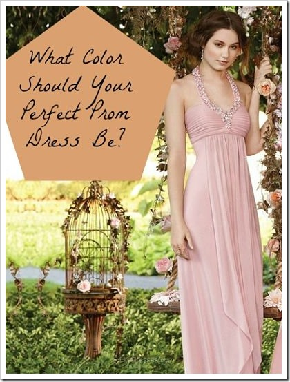 what Color Should Your Perfect Prom Dress Be?