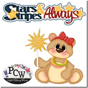 bear girl stars-stripes-always-pcw