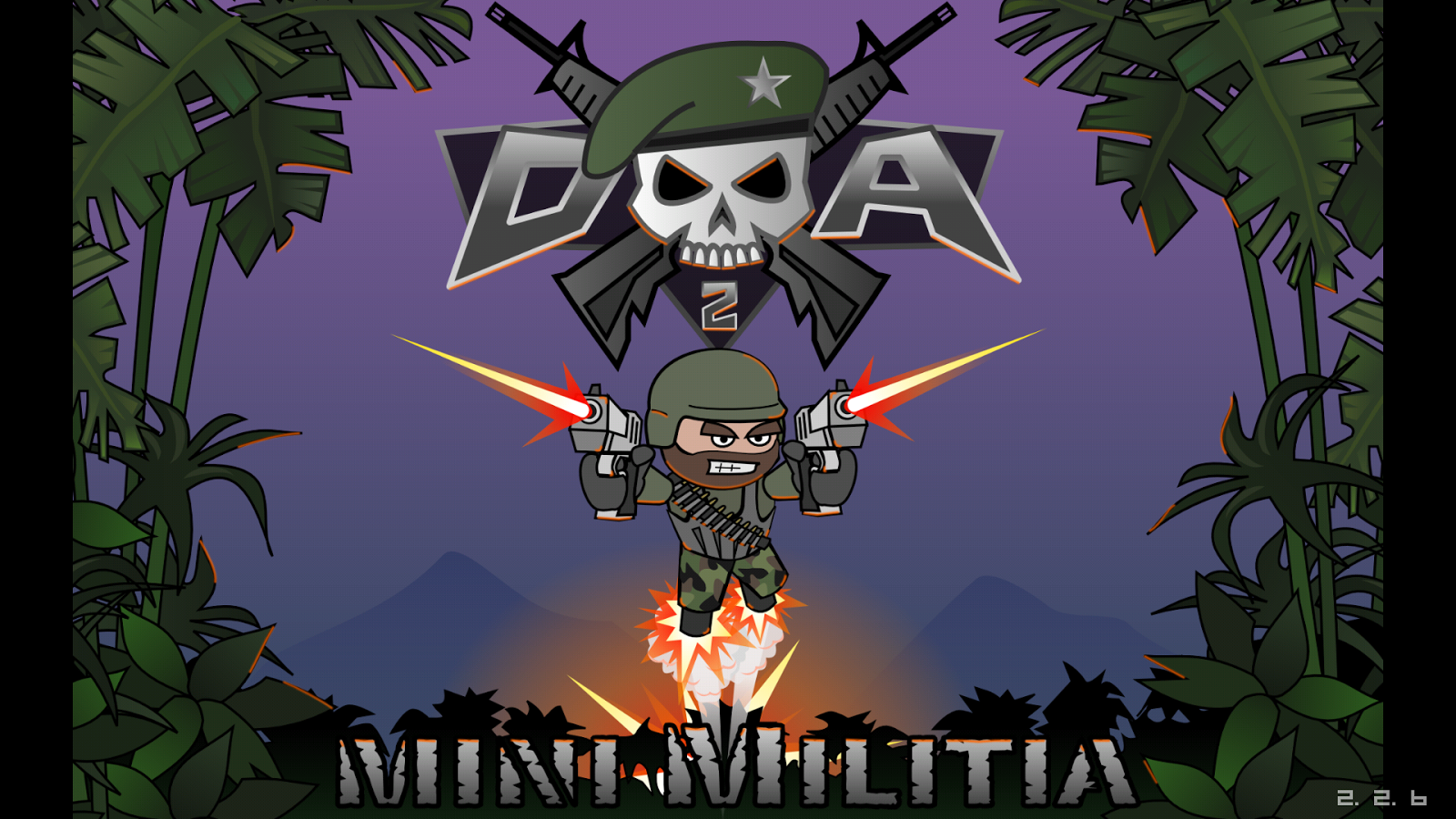 Image currently unavailable. Go to www.generator.doeshack.com and choose Doodle Army 2 : Mini Militia image, you will be redirect to Doodle Army 2 : Mini Militia Generator site.