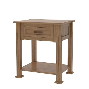 Sacramento Nightstand with Shelf