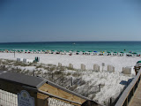 The beach across the street from the condos we stayed in in Destin FL 03182012a