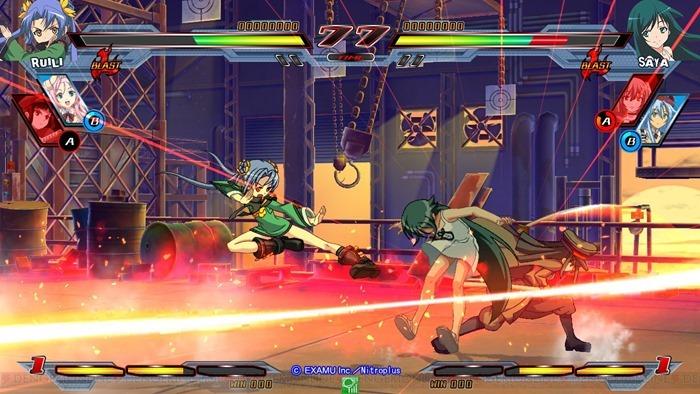 Nitroplus Blasterz Heroines Infinite Duel 01