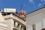 Kerk-toren in Zakynthos-Stad.