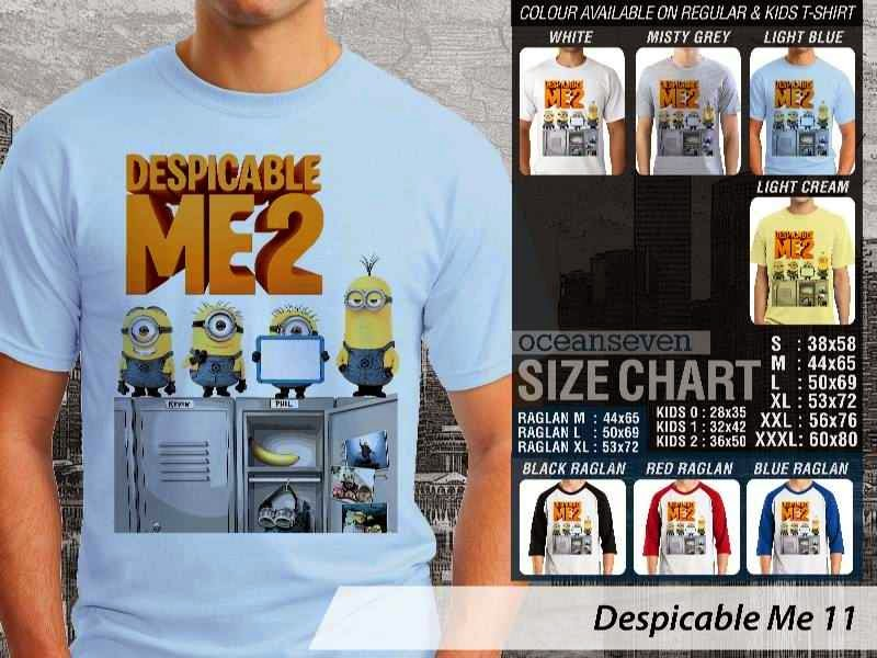 KAOS Despicable me 11 Movie Animation distro ocean seven