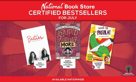 ABSCBN PUBLISHING JULY BESTSELLERS
