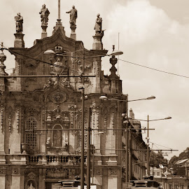 Porto by Janete Ribeiro - City,  Street & Park  Historic Districts ( old, church, train, transportation, antique )