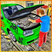 Game Car Mechanic Auto Workshop 3D APK for Kindle