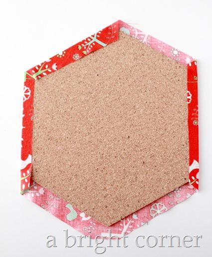 Hexagon wall decor 5